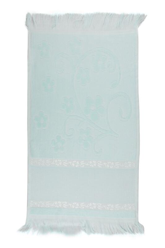 RÜYA - Rüya Pırıltı Saçaklı İşlemelik Havlu 30*50 cm | Yeşil