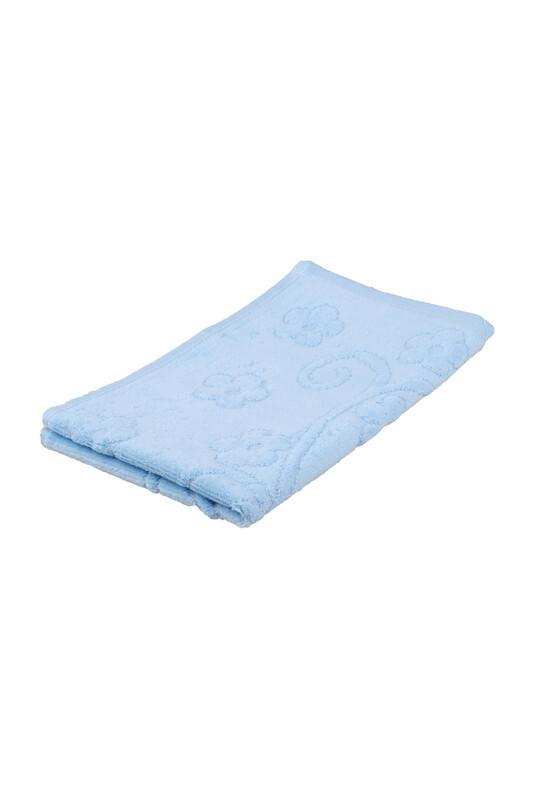 RÜYA - Rüya Pırıltı Saçaksız İşlemelik Havlu 30*50 cm | Bebe Mavi