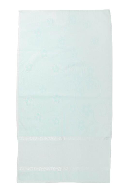 SİMİSSO - Saçaksız İşlemelik Havlu 50*90 cm | Yeşil
