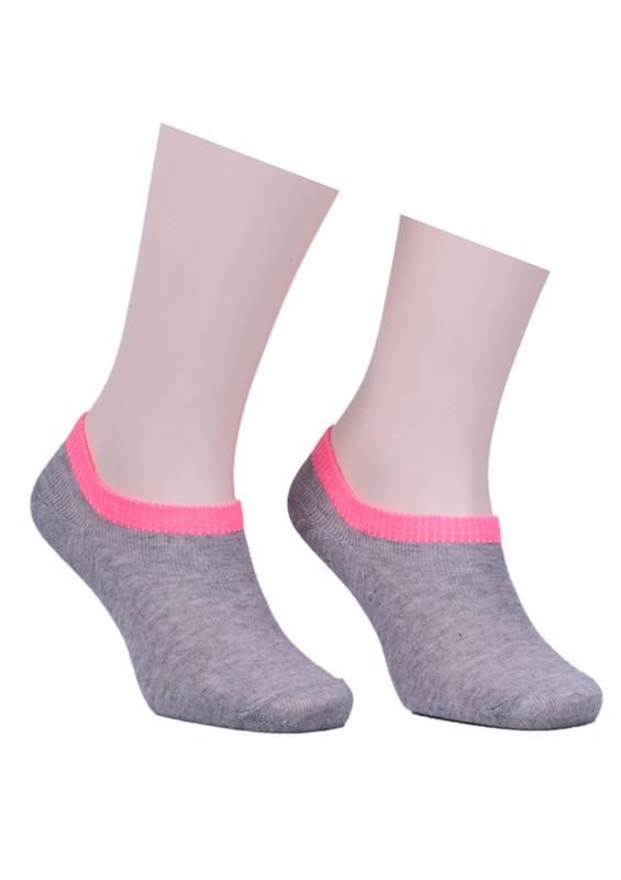 SAHAB - Sahab Bileği Renkli Soket Çorap 1540   Pembe