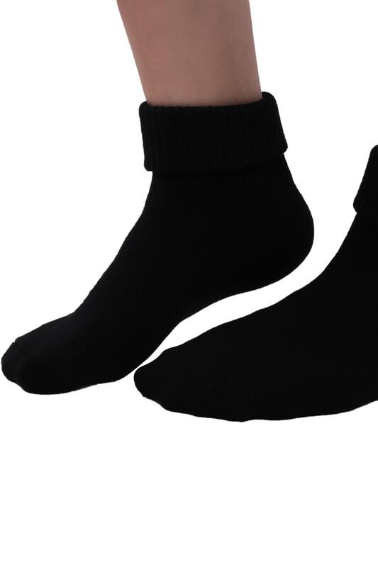 SAHAB - Sahab Kadın Bot Çorabı 48100   Siyah