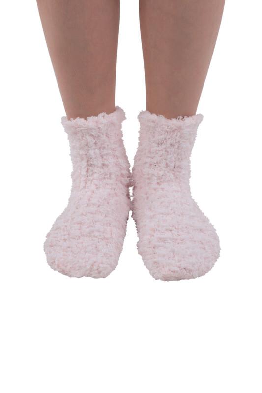 SAHAB - Sahab Kadın Örme Uyku Çorabı 30800 | Pudra