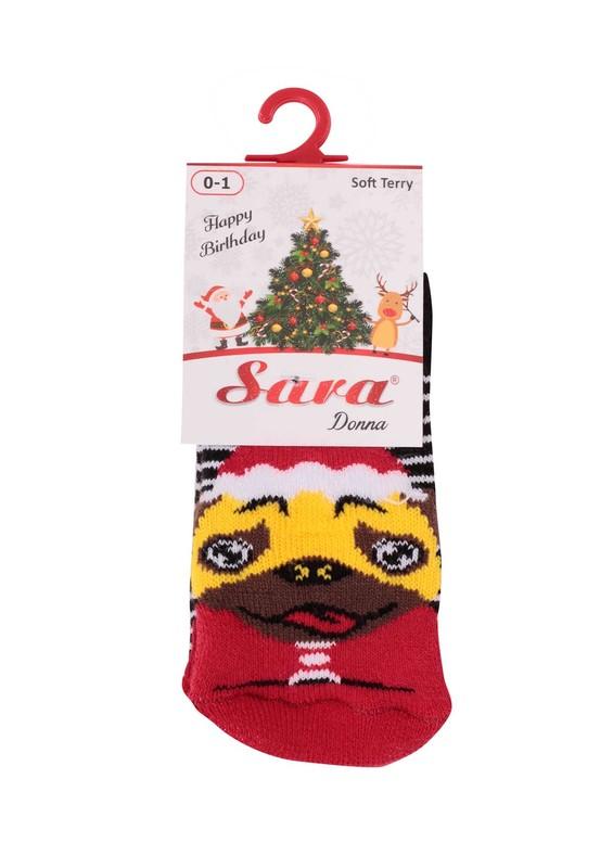 SARA DONNA - Sara Donna Çorap 19 | Kırmızı
