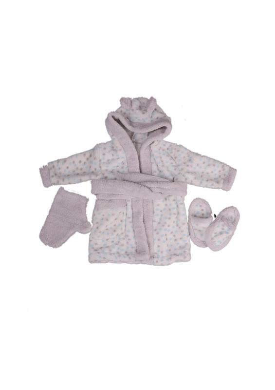 SİMİSSO - Simisso Baby Bebek Bornoz Takımı 11994 | Mavi