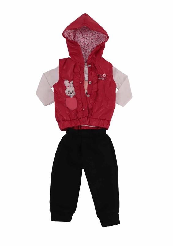 SİMİSSO - Simisso Baby Bebek Takımı 12189 | Kırmızı