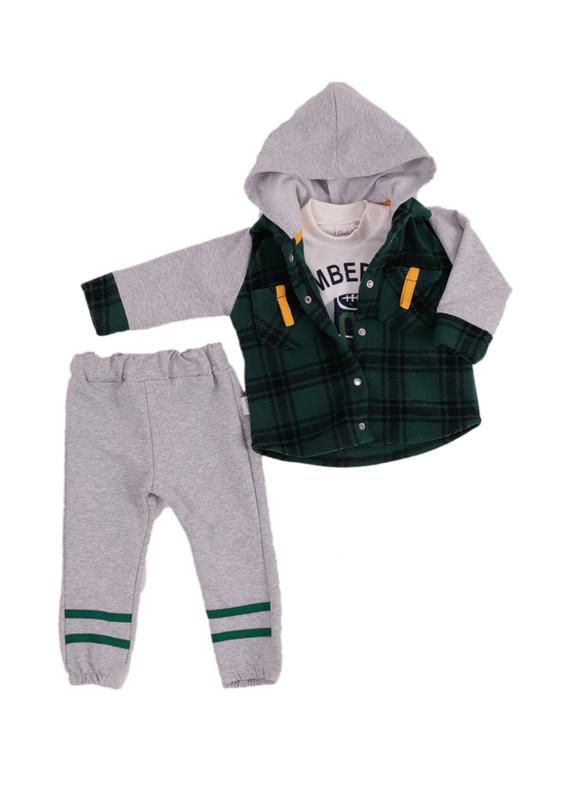 SİMİSSO - Simisso Baby Bebek Takımı 12438   Yeşil