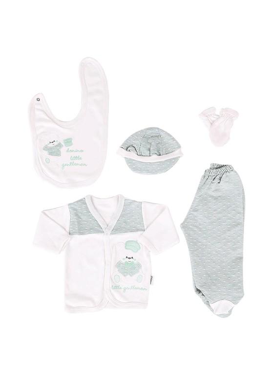 SİMİSSO - Simisso Baby Zıbın Seti 326 | Beyaz