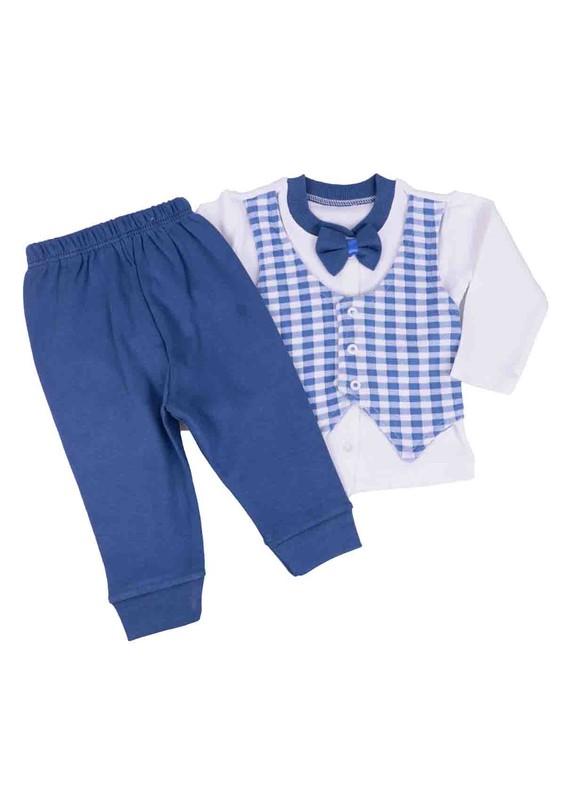 SİMİSSO - Simisso Bebek Takımı 1608 | Mavi