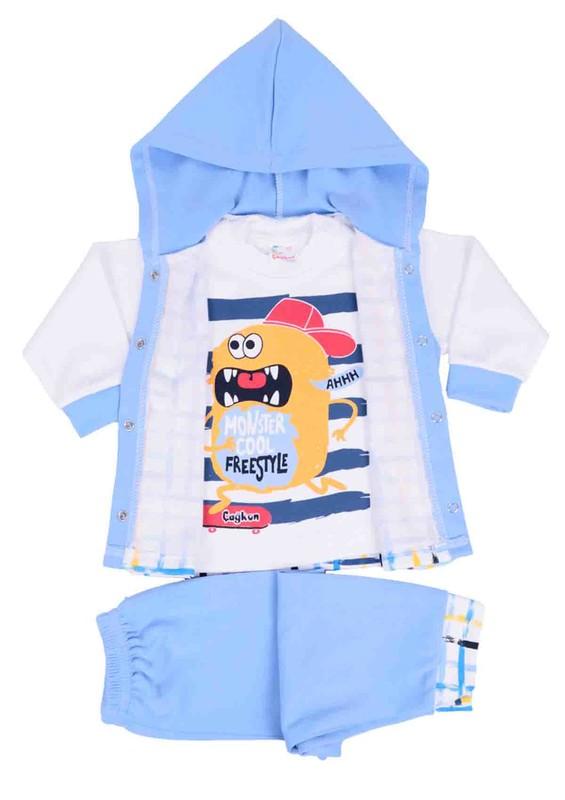 SİMİSSO - Simisso Bebek Takımı 3 ' lü 782   Mavi