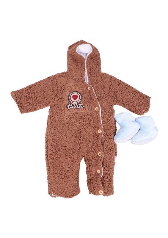 SİMİSSO - Simisso Bebek Uyku Tulumu 3031 | Kahverengi