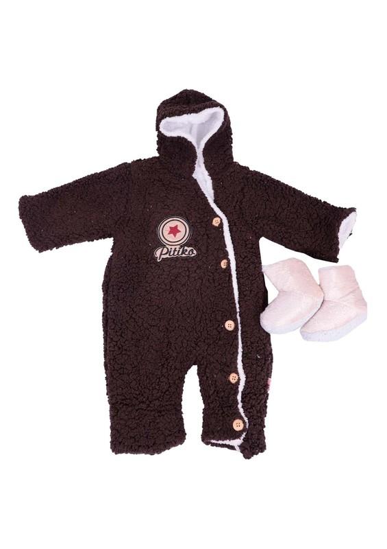 SİMİSSO - Simisso Bebek Uyku Tulumu 3031 | Koyu Kahverengi