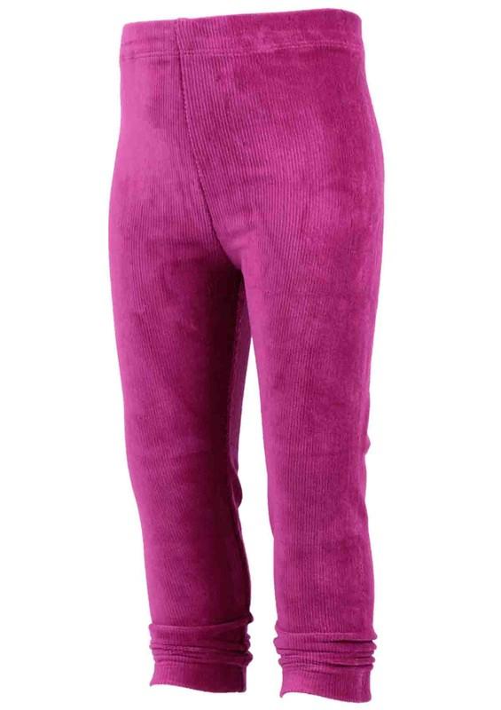 SİMİSSO - Simisso Çocuk Kadife Pantolon 1601 | Fuşya