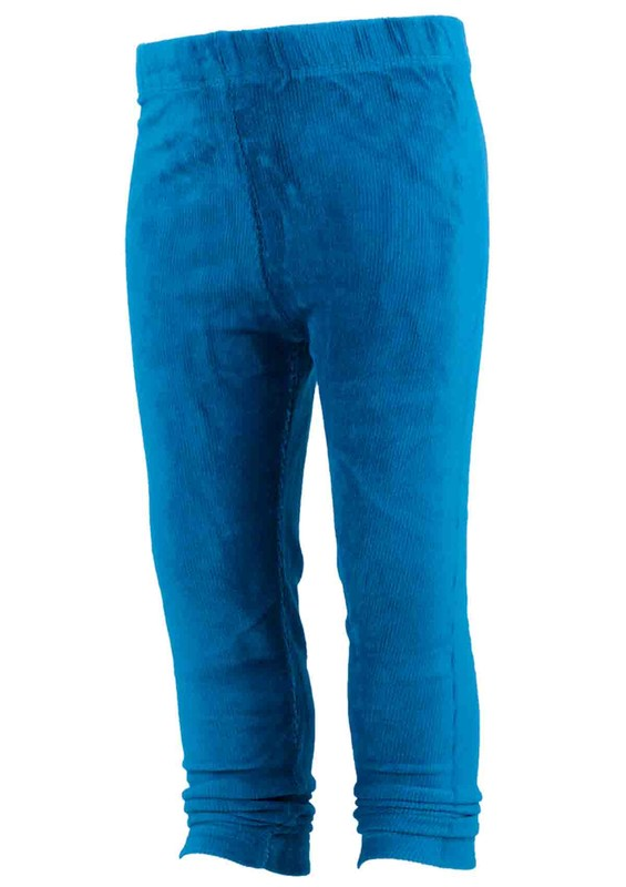 SİMİSSO - Simisso Çocuk Kadife Pantolon 1601 | Mavi