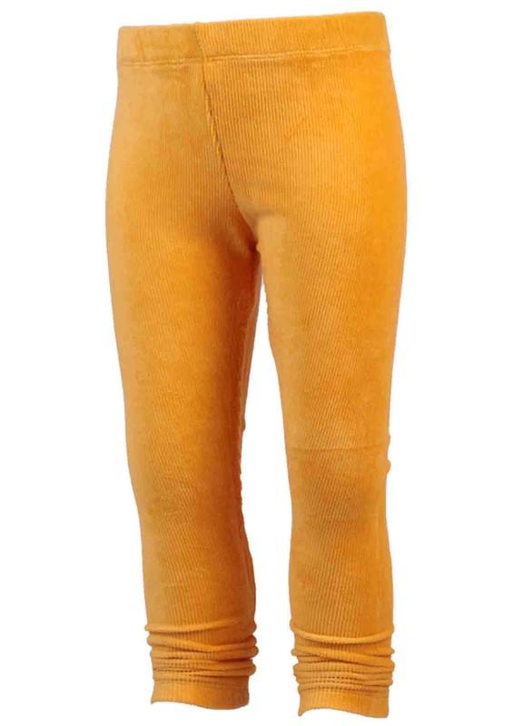 SİMİSSO - Simisso Çocuk Kadife Pantolon 1601 | Sarı