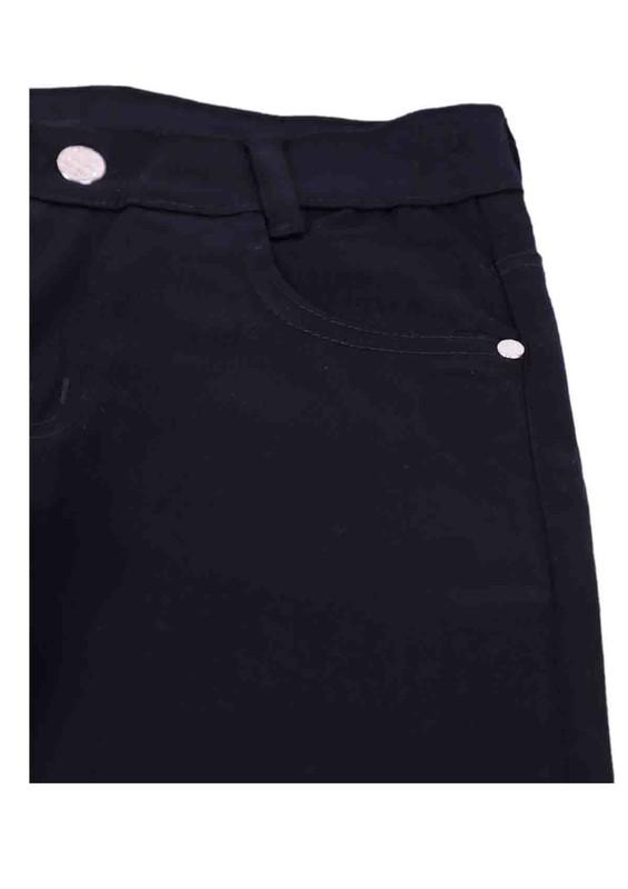 SİMİSSO - Simisso Çocuk Kanvas Pantolon 740 | Siyah