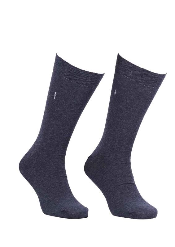 SİMİSSO - Simisso Erkek Dikişsiz Çorap 094 | Füme