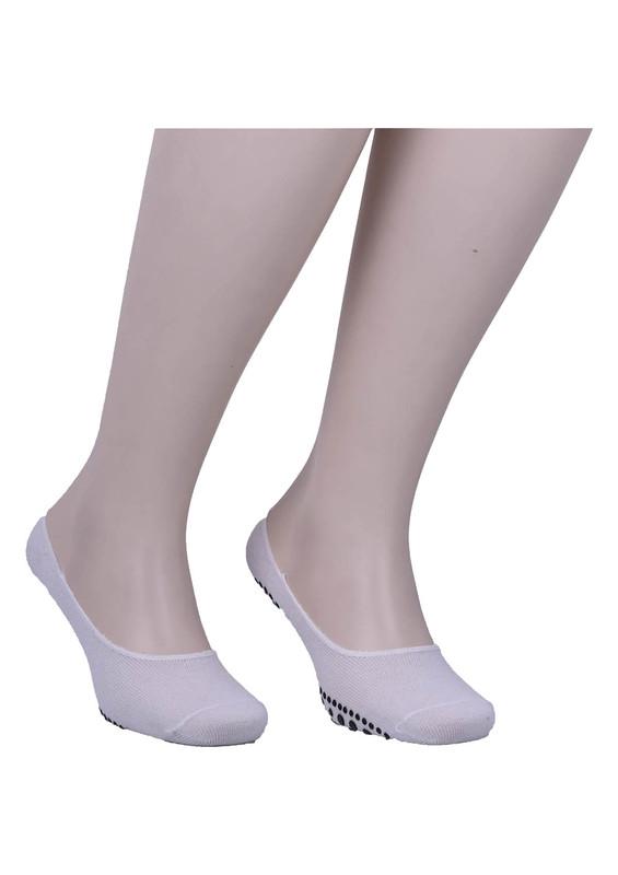 SİMİSSO - Simisso Erkek Tavaf Babet Çorabı | Beyaz