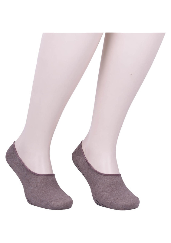SİMİSSO - Simisso Erkek Tavaf Babet Çorabı | Kahverengi