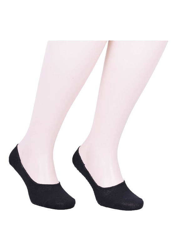 SİMİSSO - Simisso Erkek Tavaf Babet Çorabı | Siyah