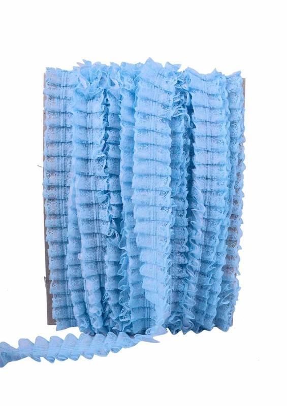 SİMİSSO - Simisso Fırfır Dantel 413 | Mavi