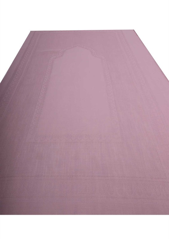 SİMİSSO - Simisso İşlemelik Hazır Seccade 130 | Pudra