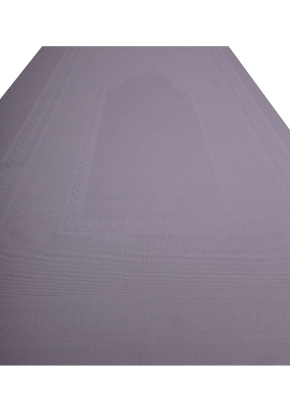 SİMİSSO - Simisso İşlemelik Hazır Seccade 132 | Beyaz
