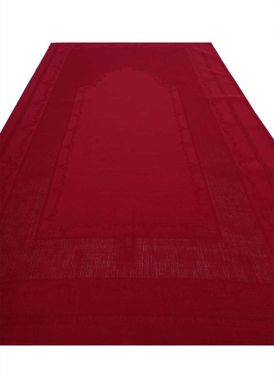 SİMİSSO - Simisso İşlemelik Hazır Seccade 134 | Kırmızı