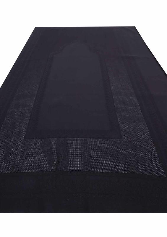 SİMİSSO - Simisso İşlemelik Hazır Seccade 139 | Siyah