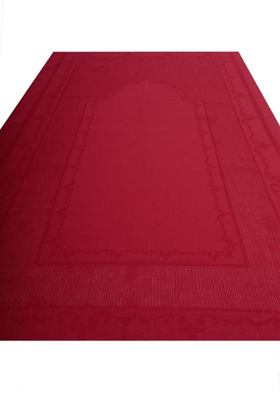 SİMİSSO - Simisso İşlemelik Hazır Seccade 205 | Kırmızı