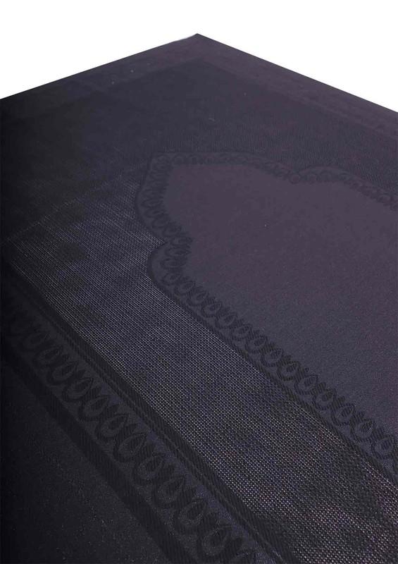 SİMİSSO - Simisso İşlemelik Hazır Seccade 210 | Siyah