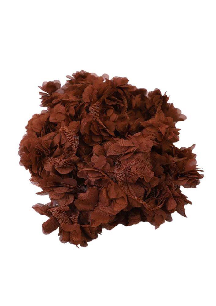 Simisso Lazer Kesim Çiçek 700 | Kahverengi