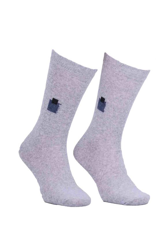 SİMİSSO - Simisso Likralı Çorap 500 | Gri