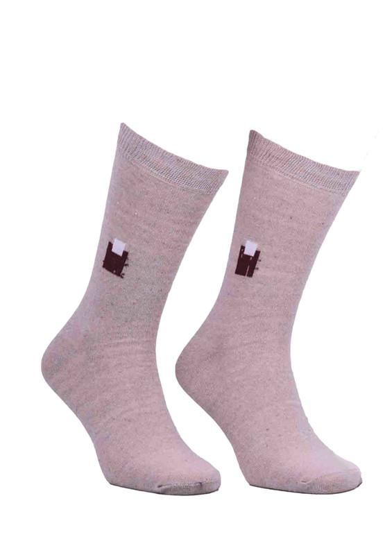 SİMİSSO - Simisso Likralı Çorap 500 | Krem