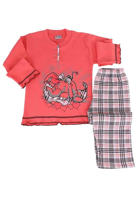 SİMİSSO - Simisso Pijama Takımı 021   Fuşya