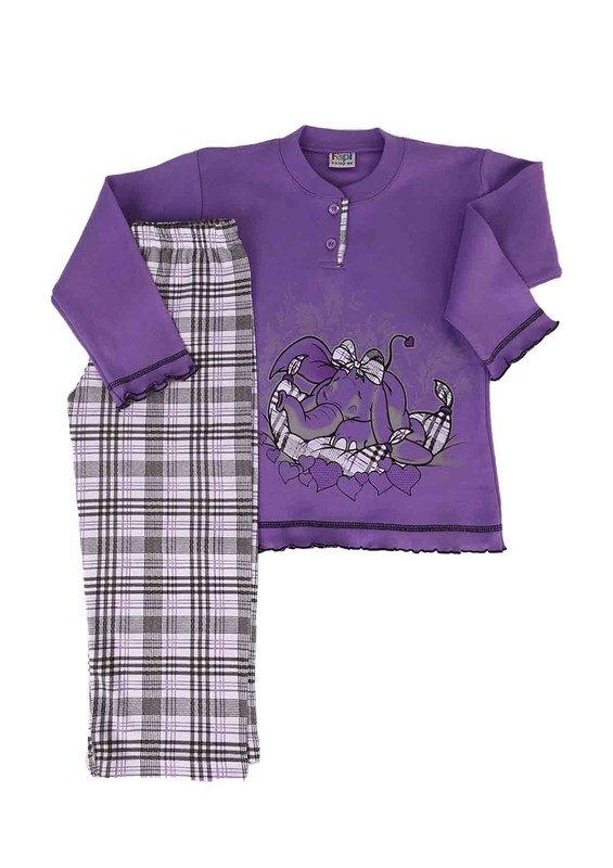 SİMİSSO - Simisso Pijama Takımı 021   Lila
