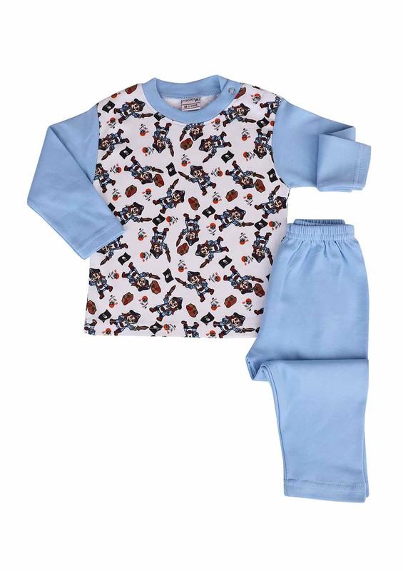SİMİSSO - Simisso Pijama Takımı 073   Mavi
