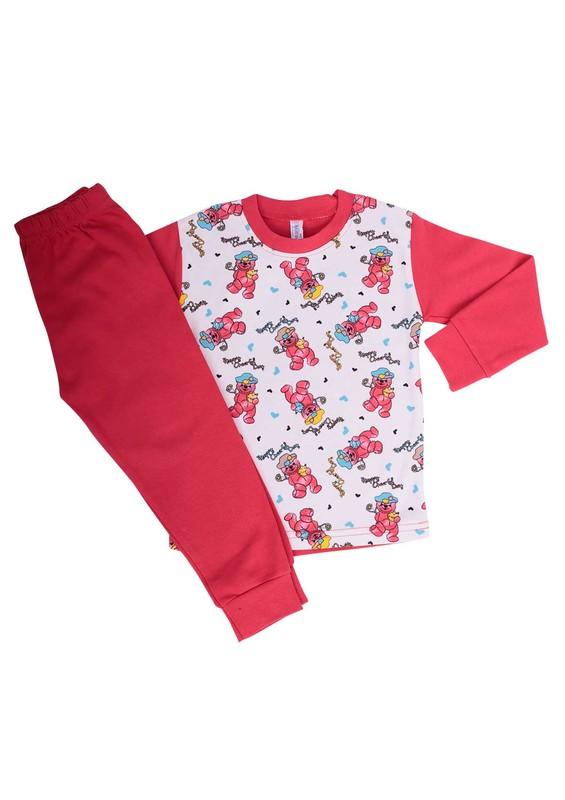 SİMİSSO - Simisso Pijama Takımı 204   Kırmızı