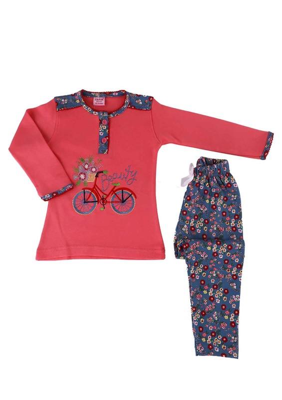 SİMİSSO - Simisso Pijama Takımı 550   Nar Çiçeği