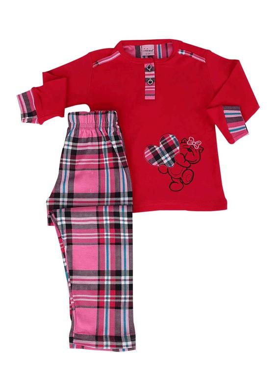 SİMİSSO - Simisso Pijama Takımı 889   Pembe