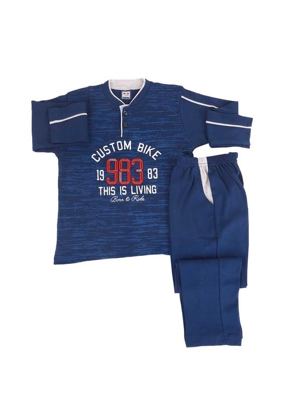 SİMİSSO - Simisso Pijama Takımı 983 | Lacivert