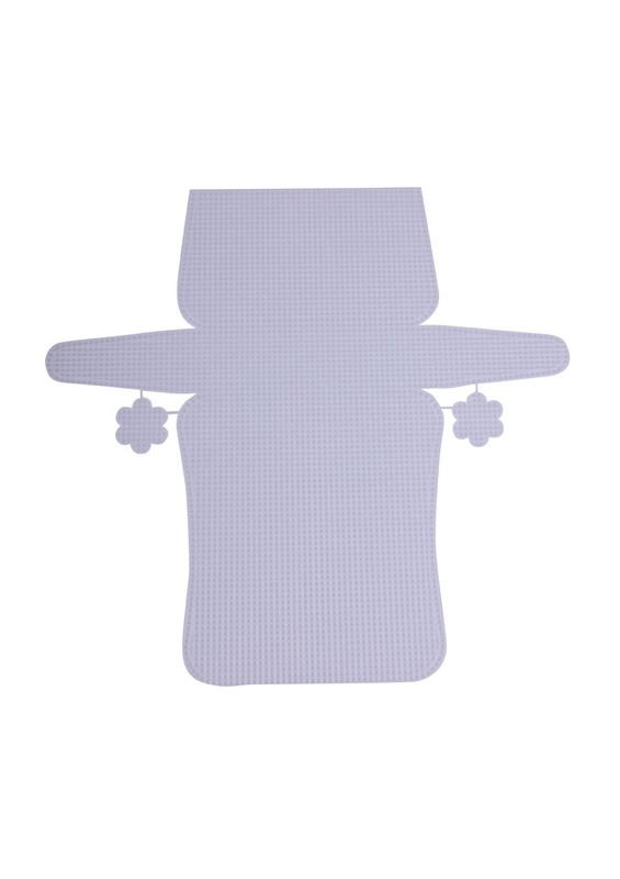 SİMİSSO - Simisso Plastik Çanta Kanvası 7898   Beyaz