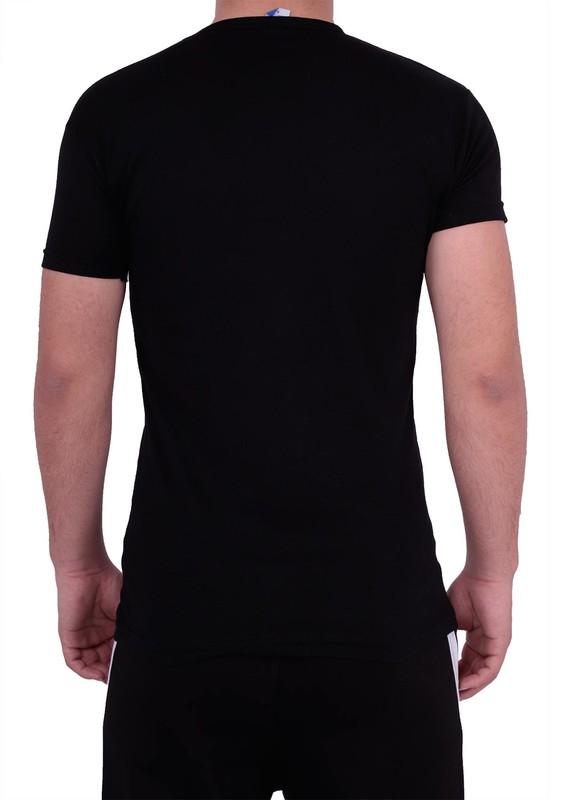 Simisso T-Shirt 216 | Siyah - Thumbnail