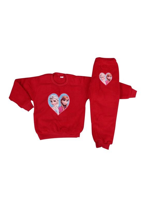 SİMİSSO - Simisso Welsoft Pijama Takımı 869   Kırmızı