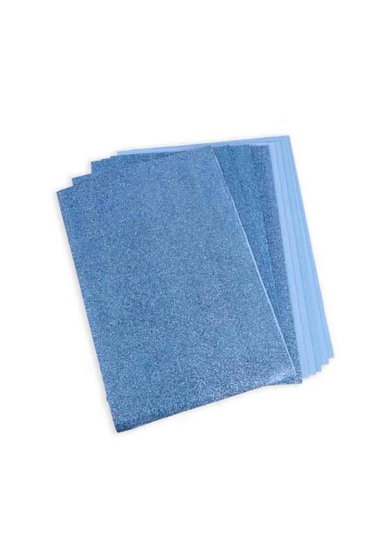 SİMİSSO - Simli Eva 20*30 cm 10'lu | Mavi