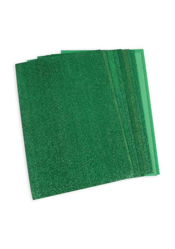 SİMİSSO - Simli Eva 20*30 cm 10'lu | Yeşil