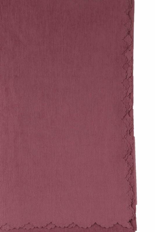 SİMİSSO - Şönil Koltuk Örtüsü 180x215 | Koyu Pudra