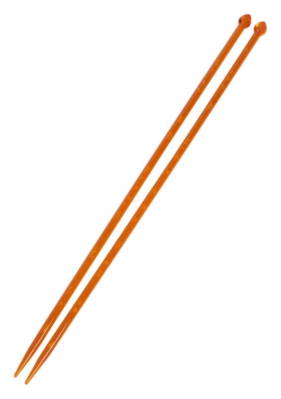 SULTAN - Спицы Sultan 35см.7мм./оранжевый