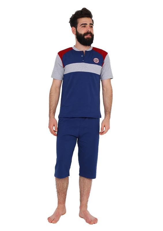 SUDE - Sude Pijama Takımı 012   İndigo