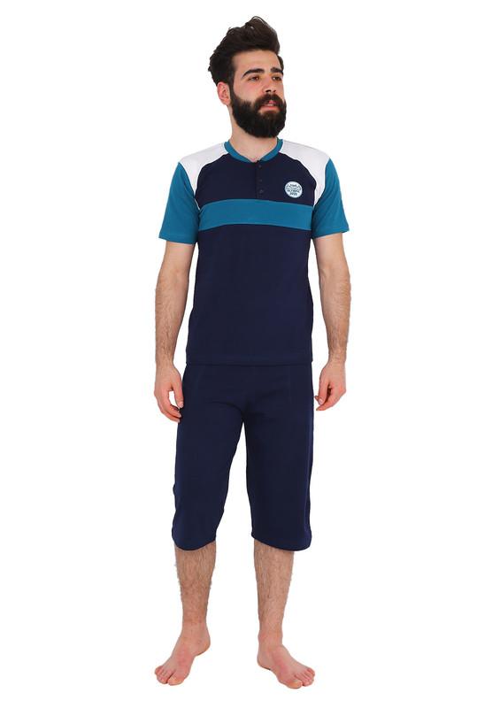 SUDE - Sude Pijama Takımı 012   Petrol