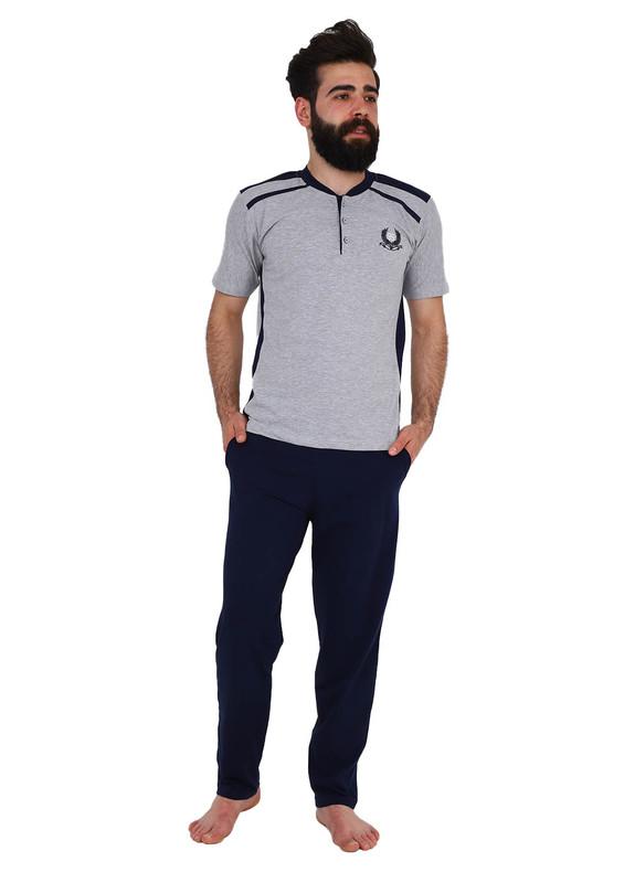SUDE - Sude Pijama Takımı 089 | Gri